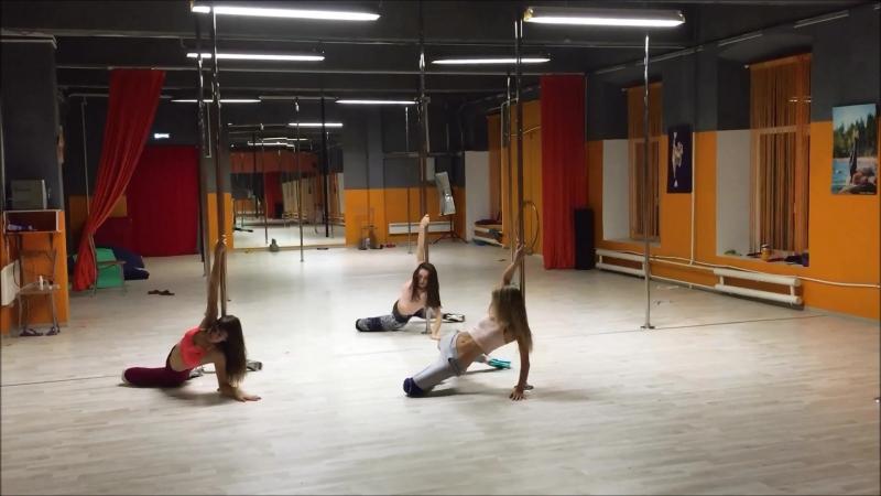 Exotic Pole Dance by Mila Anastasia Fateeva