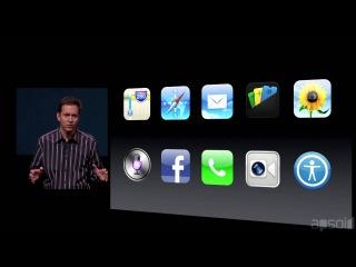 [На русском] Полная презентация iPhone 5 (от Apsoid) HD