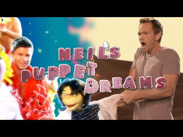 NPH JOE MANGANIELLO crash DAVID BURTKA'S DREAM BUMP Neil's Puppet Dreams