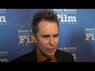 SBIFF 2018 - Sam Rockwell American Riviera Award Red Carpet Interview