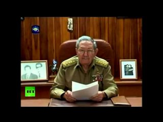 Заявление Рауля Кастро по поводу освобождения на Кубе американца Алана Гросса