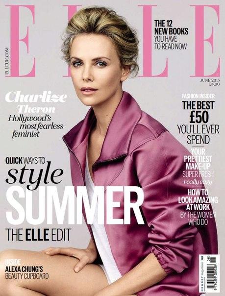ELLE - June 2015 UK