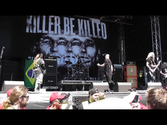 Killer Be Killed - Face Down (Live@Soundwave, Adelaide, Australia 22.02.15)