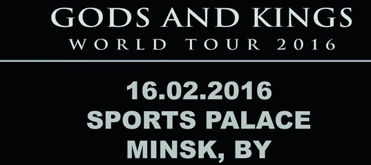 MANOWAR Announce First Ever Performance In Belarus    Manowar