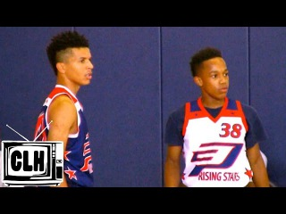 Johnathan McGriff vs Cole Anthony - Crazy Battle - CP3 Rising Stars Camp