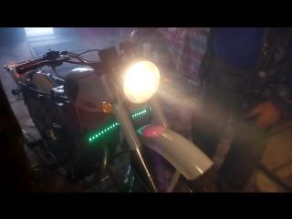 первый запуск мотоцикла минск после полного ремонта