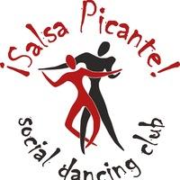Логотип  SALSA PICANTE Танцы в Волгограде