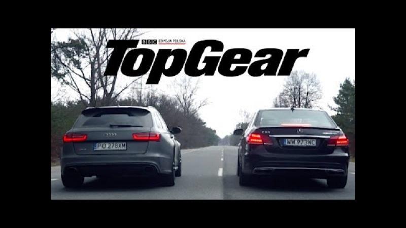 Audi RS6 vs Mercedes E63 S AMG sprint 0 100 km h NaZa5aske