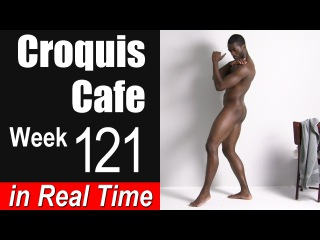 Croquis Cafe: The Artist Model Resource, Week #121
