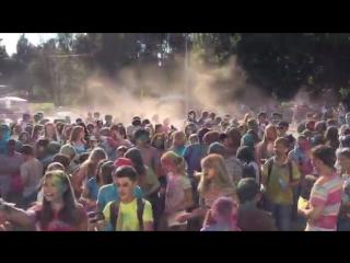 Фестиваль красок Холи. День города Каширы