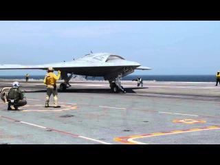 Новый Американский беспилотный ударный самолет X 47B