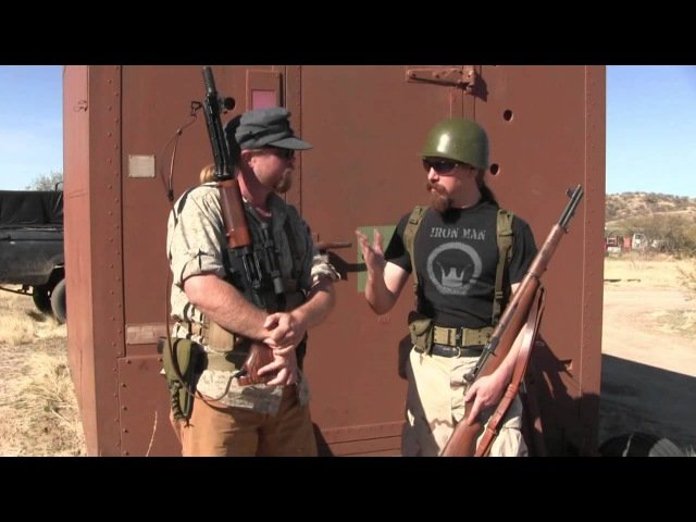 FG42 vs M1 Garand: 2-Gun Action Match