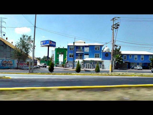 Поездка в Mexico San Martin Texmelucan de Labastida Puebla 11 04 2014г