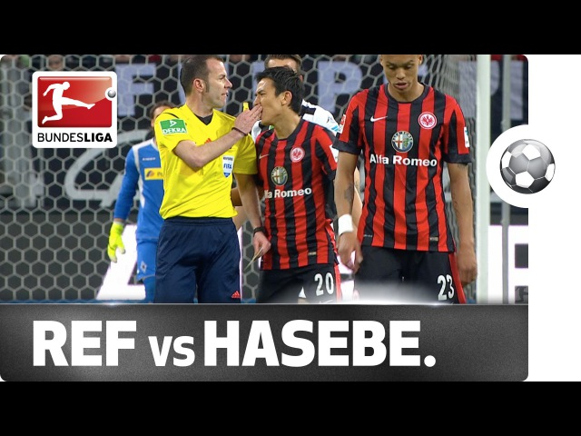Ouch Hasebe Feels the Wrath of the Referee