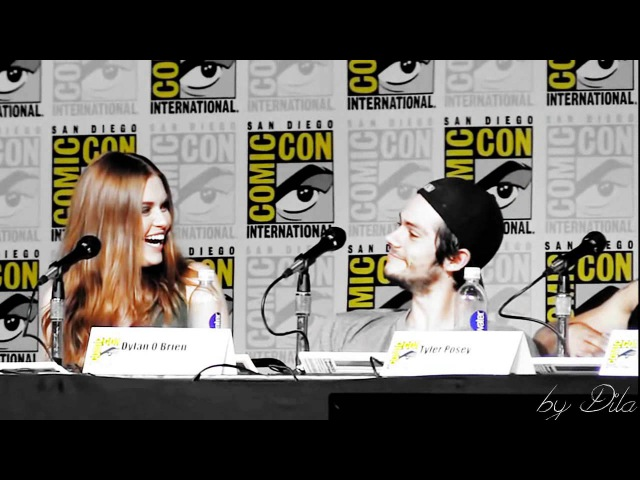 Dylan O'Brien Holland Roden You're so pretty