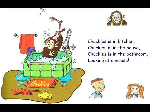 English for children Spotlight 2 Page 33 ex 3 Chuckles is in the house Song