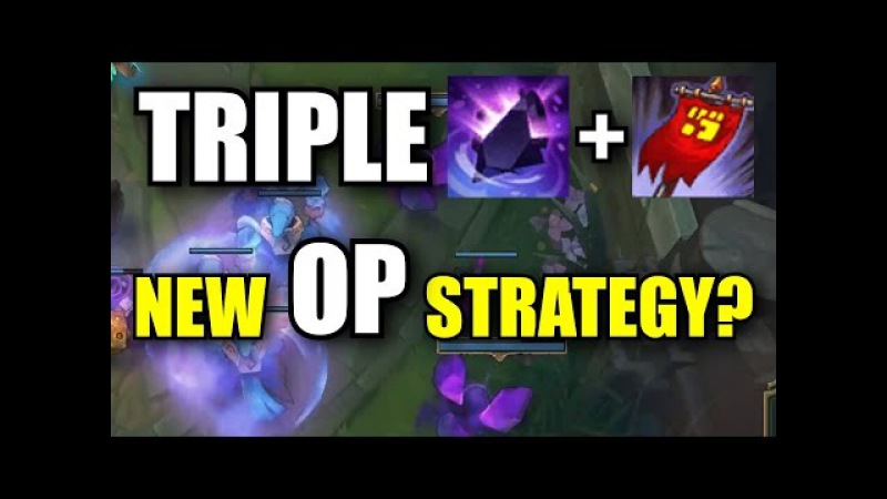 TRIPLE ZZ'ROT AND BANNER OF COMMAND League of Legends