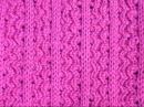 Ажурный узор Волнистые бороздки на вязальной машине Неве 2