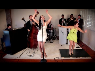 Lady gaga goes 1920s, with postmodern jukebox ft. ariana savalas and tap dance sensation sarah reich