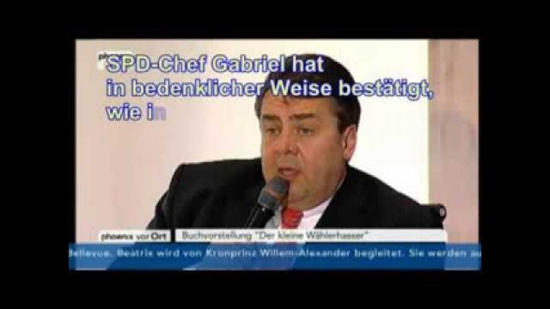 SPD Chef Gabriel bestätigt Psychiatrisierung und Geheimakte