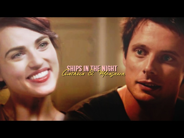 ArthurMorgana-Ships In The Night(MODERN-AU)