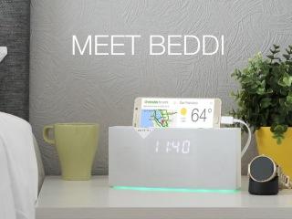 BEDDI Intelligent Alarm Clock. The Smartest Way To Wake Up