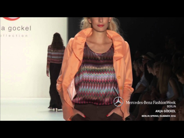 ANJA GOCKEL MERCEDES BENZ FASHION WEEK BERLIN SS2016