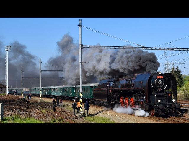170 let Severní dráhy císaře Ferdinanda: parní lokomotiva 475.101 - 1.5.2017