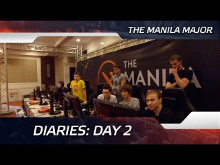 Diaries: Day 2 @ The Manila Major (ENG SUBS)