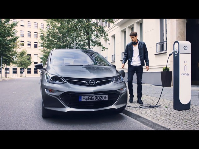The Opel electric car Ampera e