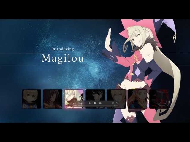 Tales of Berseria - Character Trailer: Magilou   PS4, PC (Steam)