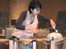 「太古の響き」竹原美歌さんデモ演奏 Mika Takehara meets Taiko no Hibiki