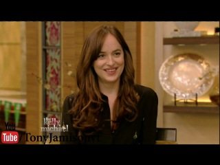 Dakota Johnson Interview - How To Be Single - Live with Kelly and Michael 2016 Feb. 04