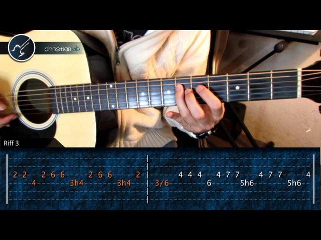 Cómo tocar La Camisa Negra de Juanes en Guitarra Acústica HD Tutorial Arpegio Christianvib