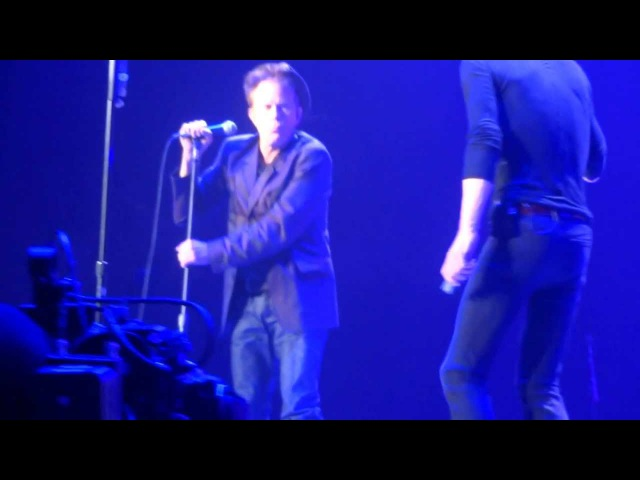 Rolling Stones withTom Waits Little Red Rooster from T pit @Oracle Arena Oakland CA 5 5 2013