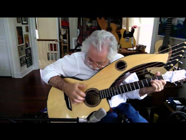 Rohan Theme Stephen Bennett on harp guitar