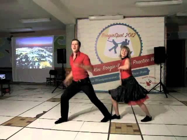 Иван Катрунов - Татьяна Георгиевская (BOOGIESPOT 2012)