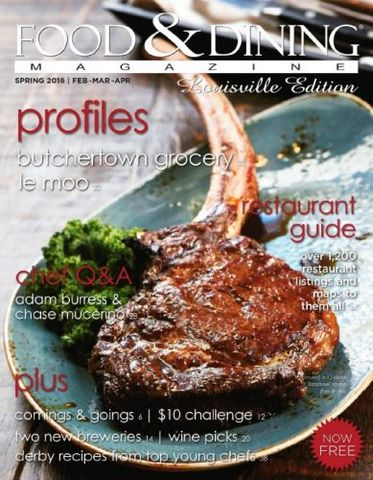 Food & Dining Magazine - Spring 2016