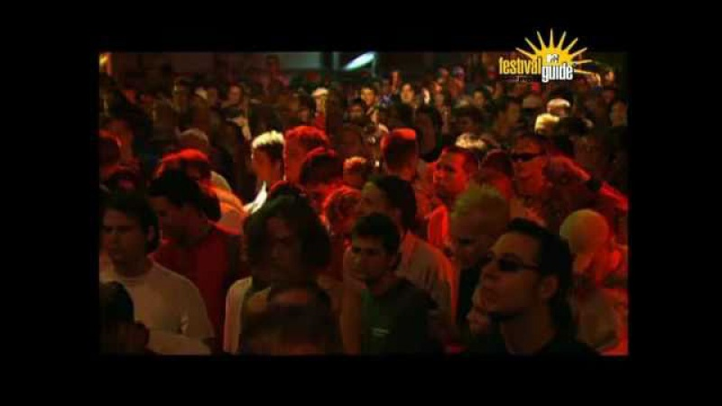 Mouse on Mars Distroia LIVE at Bizarre Festival 17.08.2001 Weeze, Germany