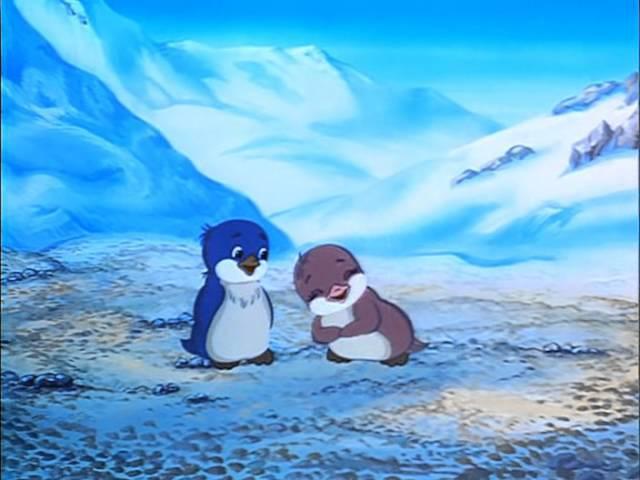 Приключения пингвиненка Лоло,1 серия, 1986г. Мультфильм