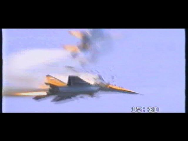 Mig 29 s Crash at IAT 1993 RAF Fairford