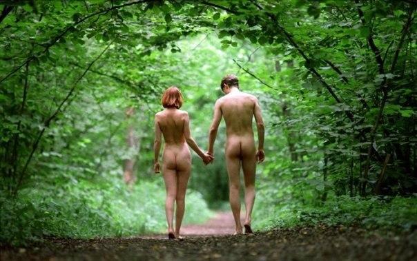 Нудисты В Лесу