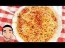 Spaghetti and Meatballs Recipe MACCHERONI ALLA CHITARRA made by Nonna Igea