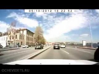 Неудачная месть на дороге