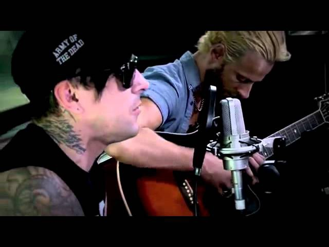 Last Train Home Lostprophets acoustic on Warped Tour 2012