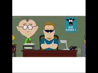 I would say I'm sorry for the South Park spam, but my mom didn't raise me to lie