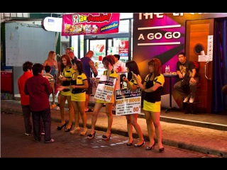 Walking Street - Nightlife Pattaya Sexy Girls Thailand 2015