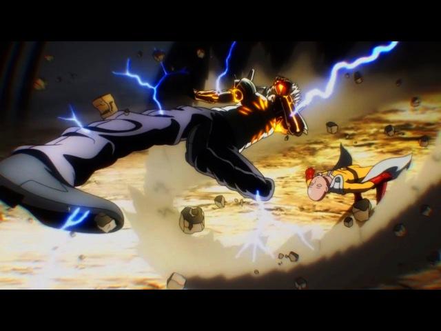 AMV One Punch Man Full Battles all battles Ванпанчмен все битвы