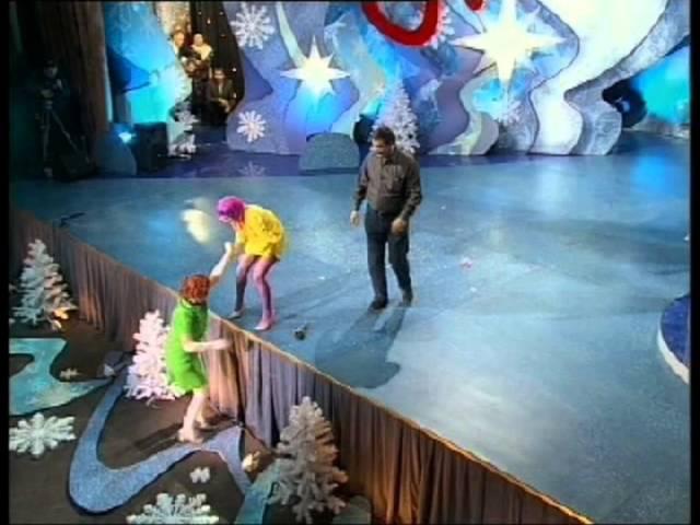 КЛАВЫ клоунское трио. номер ФОКУСЫ. KLAVY clown trio
