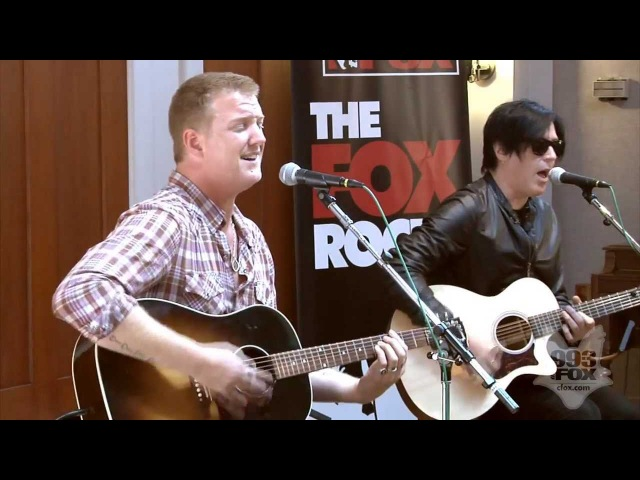 Queens Of The Stone Age Go With the Flow Fox Uninvited Guest